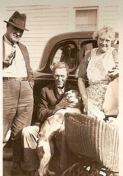 193x - Will & Grace Shirley -  Frank L Voas, sitting