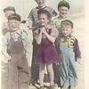 1942 - back: Eugene Smith, Stanley Smith, Donald Voas; front: David Smith, Marjorie Voas, Dwaine Voas