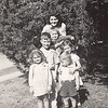 1941 - Clockwise: Joann, Don, Tiny, Connie, Marge, Dwaine - Jack & Dick Voas families