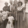 195x - back: Gma Blanche, Frank & Ada Tolar, Marge, Don; front: Dwaine, Milly