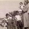 1942-06 - Marge & Dwaine Voas, Gene, David, Stan, Mickey Smith